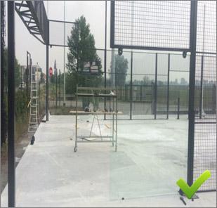 Lavori preliminari installazione campo padel - 2