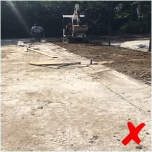 Lavori preliminari installazione campo padel - 3