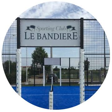 Le Bandiere Sporting Club recensione dei campi da gioco Italian Padel