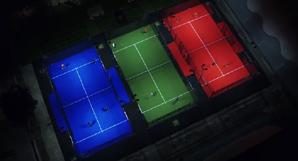 Padel Club Vicenza: veduta aerea dei campi e intervista a Davide Zanardi