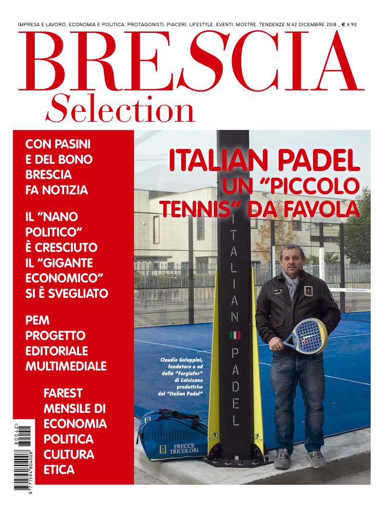 Italian Padel, un piccolo tennis da favola (Brescia Selection, Dicembre 2018)